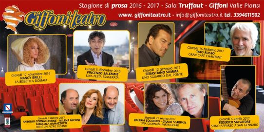 STAGIONE 2016/2017 - GIFFONI TEATRO