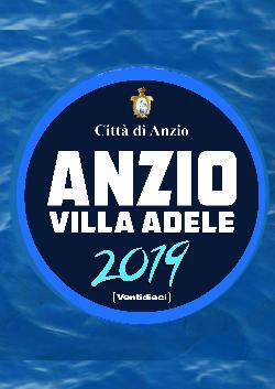 Anzio Estate Villa Adele