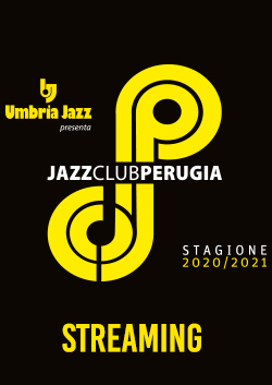 Perugia Jazz Club Streaming