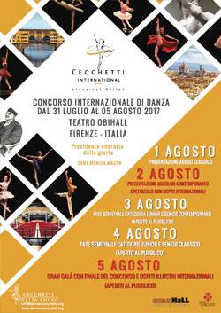 Cecchetti International Classical Ballet Competition 2017
