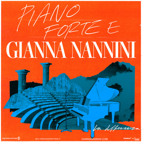 "GIANNA NANNINI - ""PIANO FORTE E GIANNA NANNINI – La Differenza"""