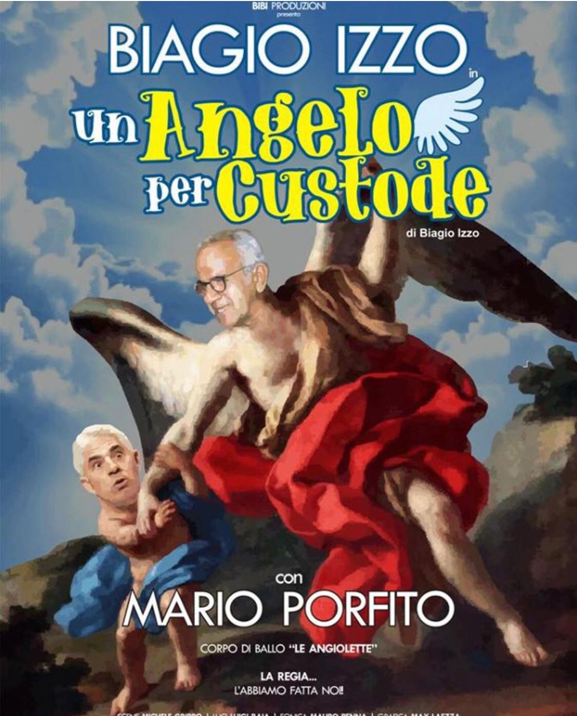 BIAGIO IZZO in UN ANGELO PER CUSTODE