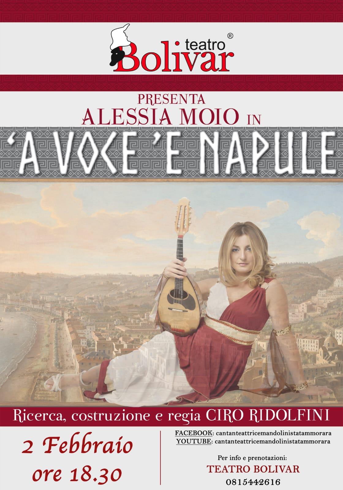 A VOCE ' E NAPULE con ALESSIA MOIO