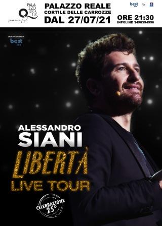 Alessandro Siani - LIBERTA' LIVE TOUR