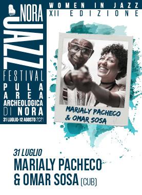Marialy Pacheco and Omar Sosa