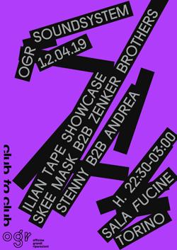 Ilian Tape Showcase: Skee Mask B2B Zenker Brothers + Stenny B2B Andrea