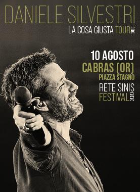 """DANIELE SILVESTRI """" LA COSA GIUSTA TOUR"""""""