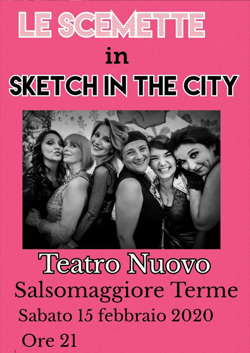 Le Scemette in Sketch in the City