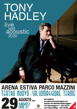 """TONY HADLEY """"LIVE AND ACOUSTIC"""""""