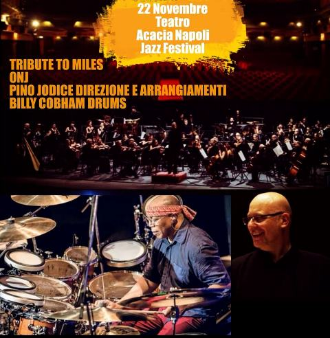 Orchestra Nazionale del JAZZ special guest Billy Cobham