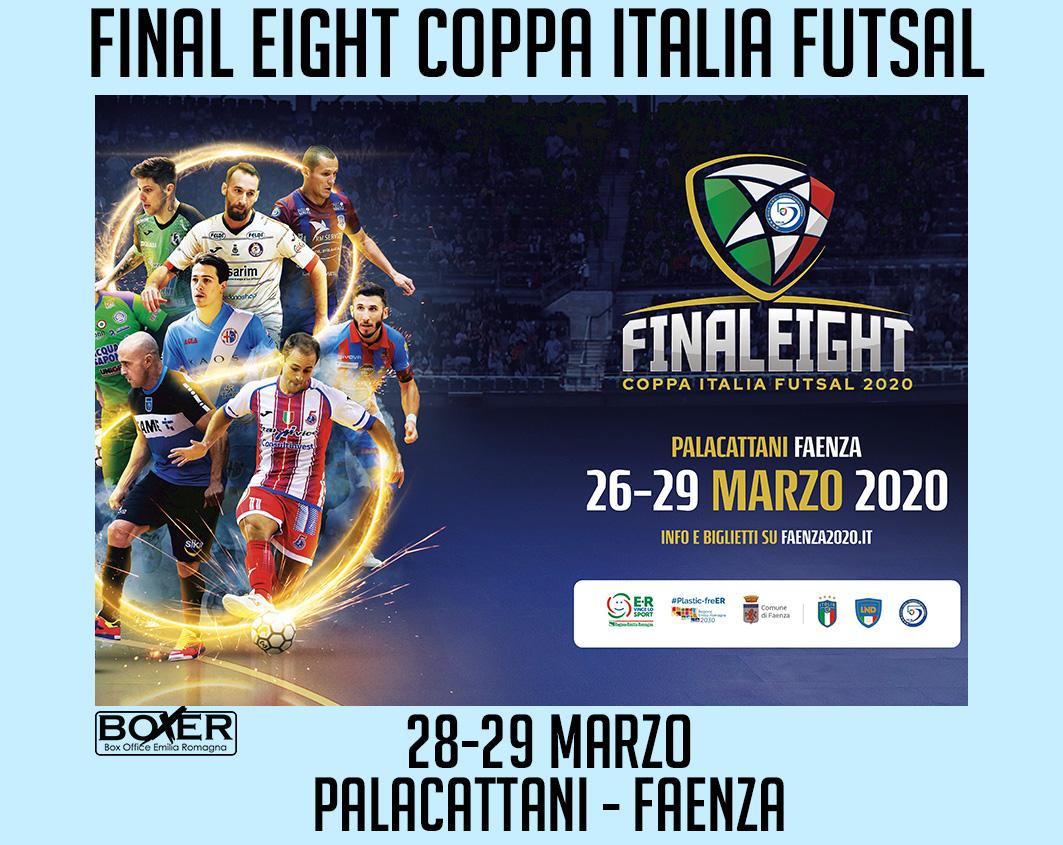 Final Eight Coppa Italia Serie A 2020 - Gruppi e Società - Abbonamento