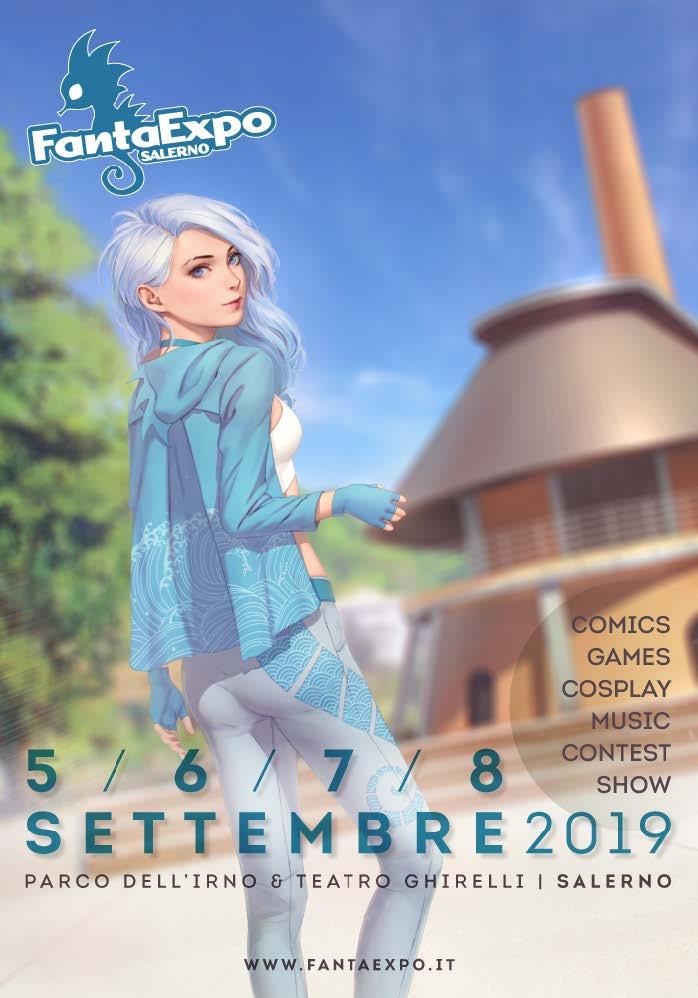 FANTAEXPO 2019 - INGRESSO GIORNALIERO