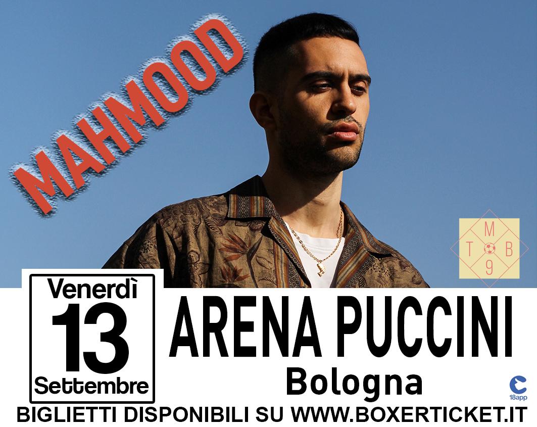 MAHMOOD @ Tutto Molto Bello c/o Arena Puccini