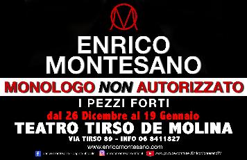 Enrico Montesano in Monologo non autorizzato