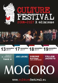 Abbonamento Culture Festival 2017