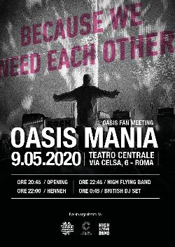 Oasis Mania Night