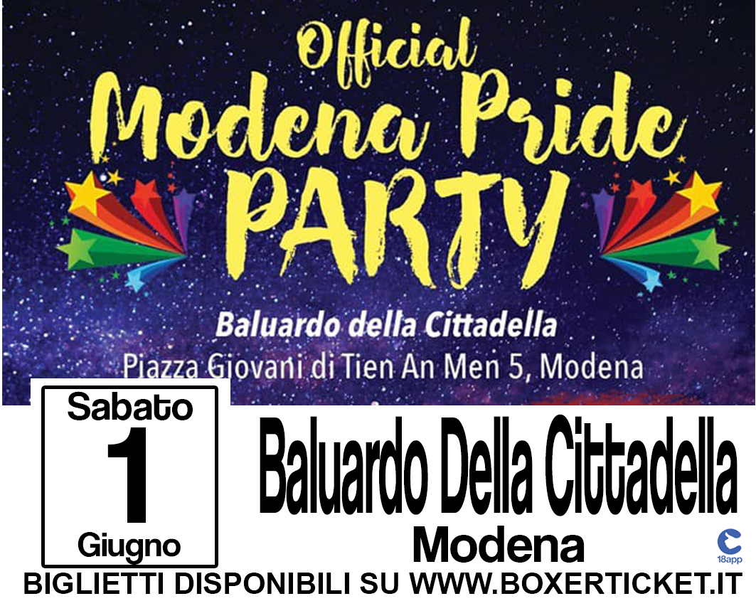 Official Modena Party Pride
