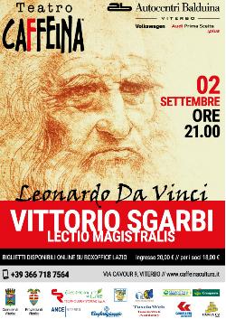 Vittorio Sgarbi:Lectio Magistralis