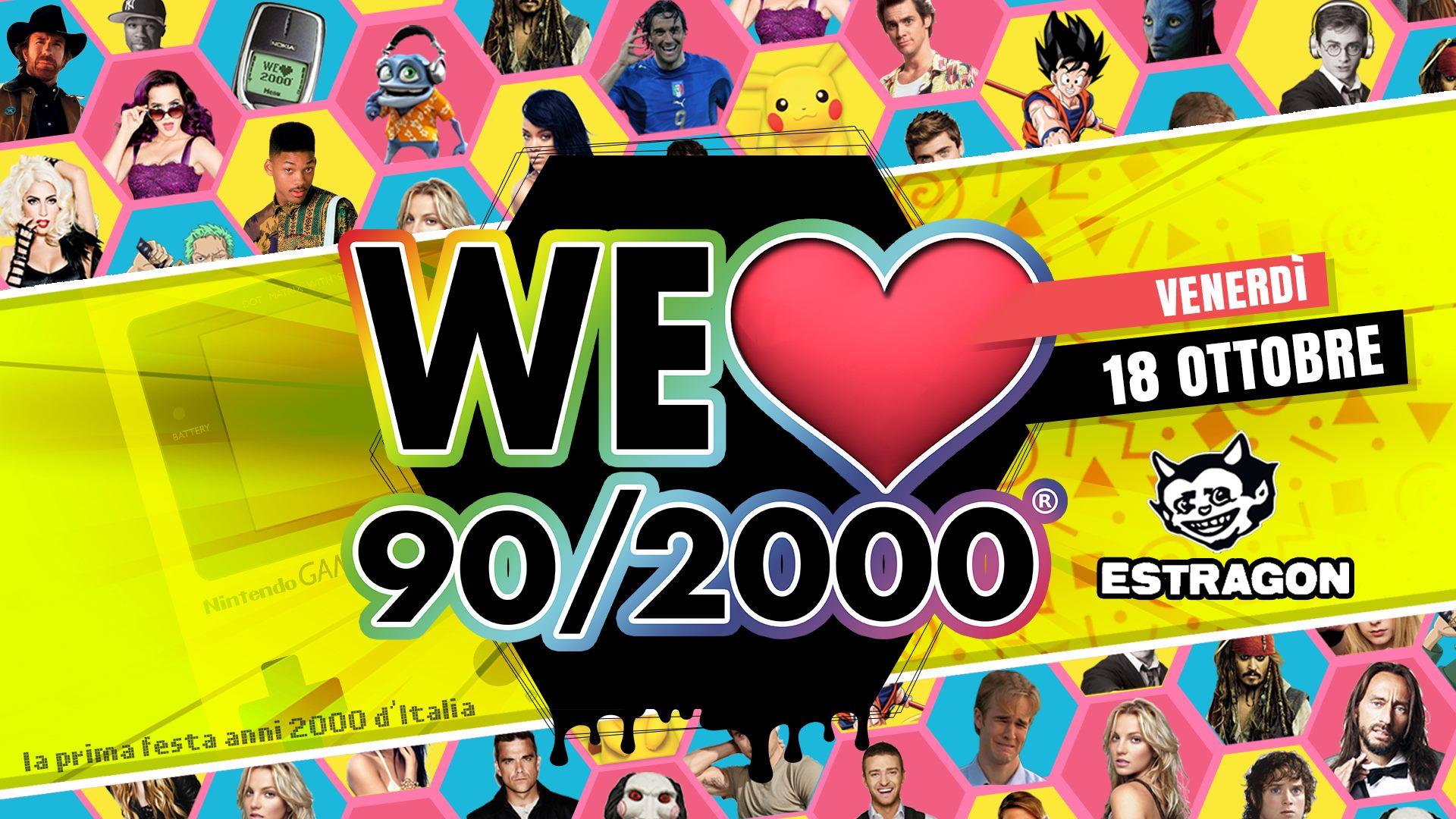 WE Love 90/2000 - Opening!
