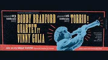 BOBBY BRADFORD QUARTET ft VINNY GOLIA