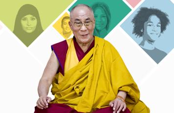 Incontro con Sua Santita' il XIV Dalai Lama