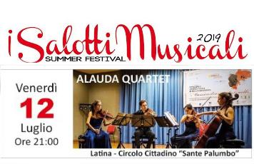 I Salotti Musicali - Alauda Quartet