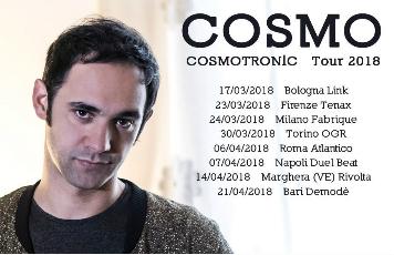 """Cosmo """"Cosmotronic Tour 2018"""""""