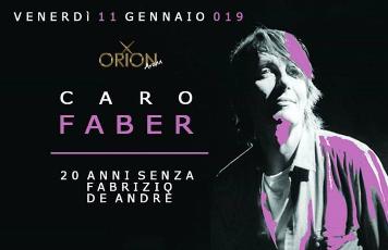 Caro Faber - 20 anni senza Fabrizio De Andre'