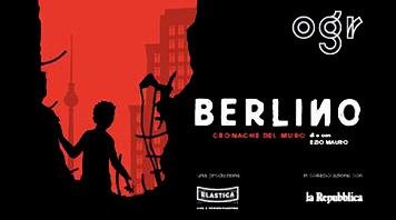Berlino. Cronache dal muro - Reading teatrale di e con Ezio Mauro