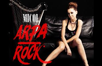I Salotti Musicali - Micol Arpa Rock