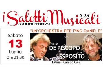 I Salotti Musicali - Un'Orchestra per Pino Daniele